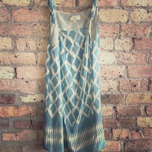 Moulinette Soeurs shift  silk dress